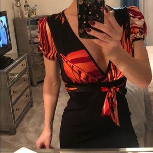 Sexy mini Bebe Dress